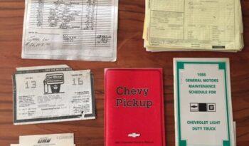 Chevrolet C20 Silverado 2500 voll