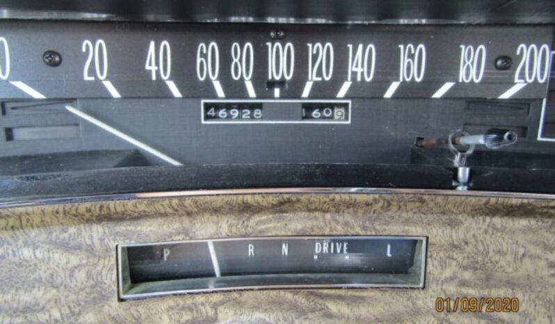 Cadillac Eldorado Fleetwood voll