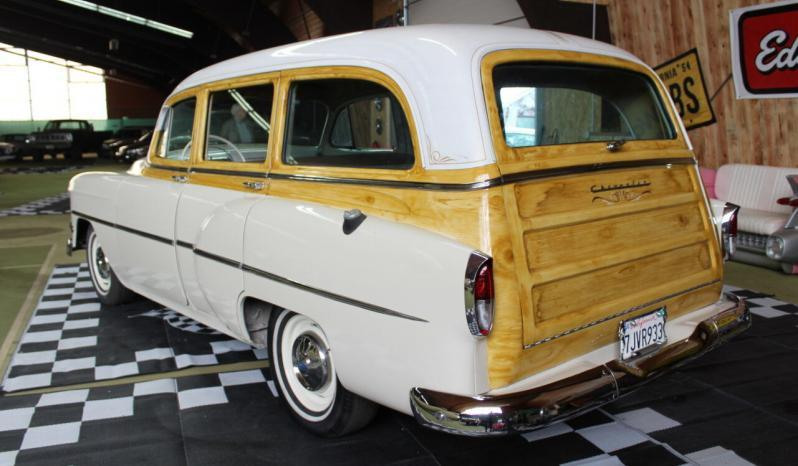 Chevrolet Belair Station Wagon 6 Cylinder, Woody-Look, California-Import voll