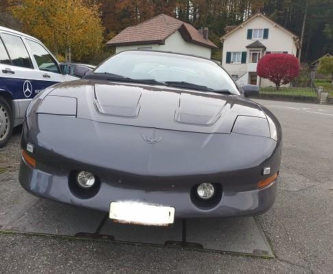 Pontiac Firebird Trans Am 5.7 V8 voll
