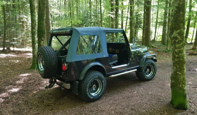 Jeep Cj7 voll