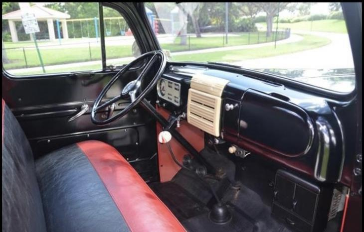 Ford F1 Pickup 6 Zylinder Flathead Top voll