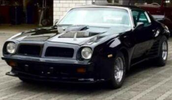 Pontiac FIREBIRD Trans Am 7,5 V8 455 Big Block Motor voll