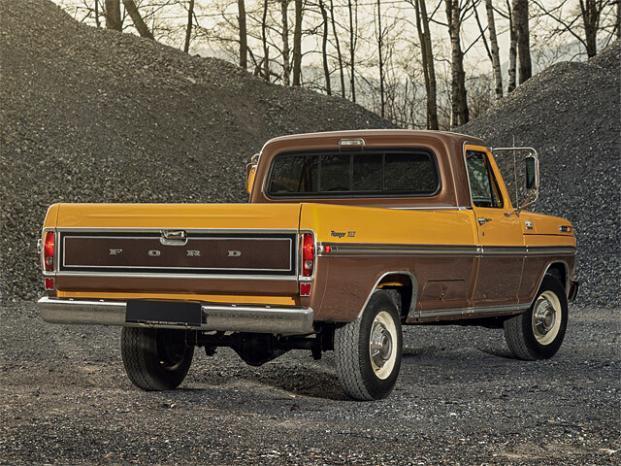 Ford Pickup F250 Ranger XLT Camper Special voll